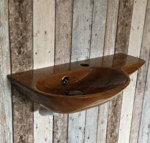 Norwegian Wood Design Wall Mounted Basin And Integrated